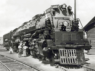 Locomotiva a Vapore Union Pacific - Big Boy